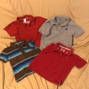 Bundle 4 Boys Polo Shirts